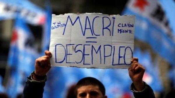 Más de 22.000 despidos y suspensiones en Argentina durante 2017