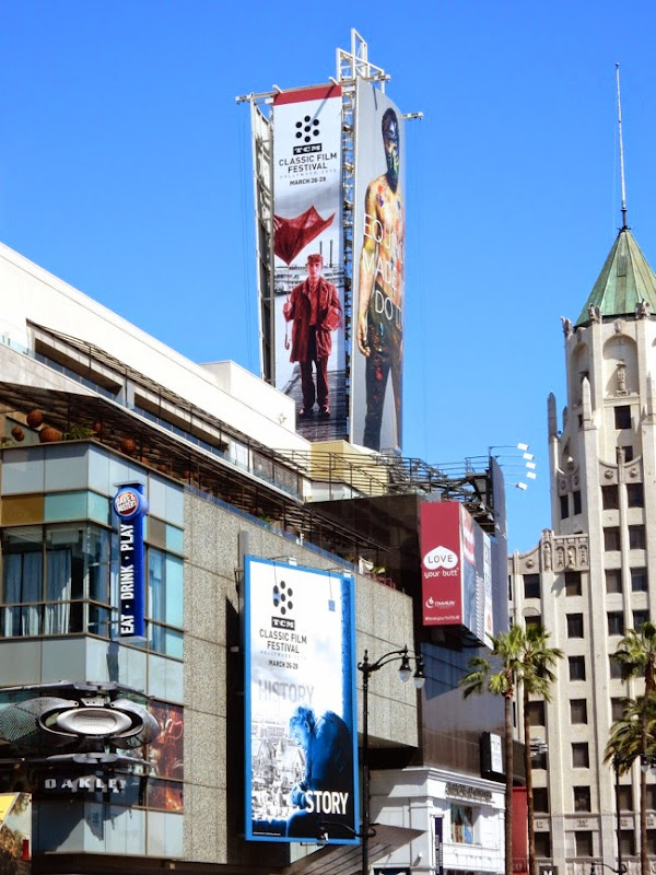 2015 TCM Classic Film Festival billboards