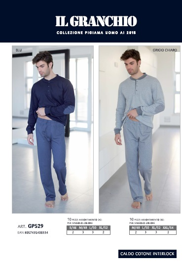 włoska_bielizna_męska_piżama_enrico_coveri_rzymskie_zakupy