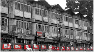 Old Supermarket building in Darjeeling