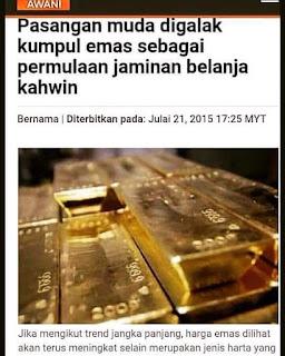 Breaking News! Harga Emas Hari Ini