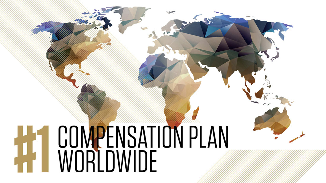 #1 Compensation Plan World Wide