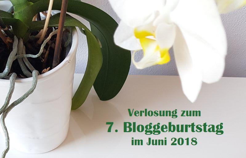Verlosung zum siebten Bloggeburtstag