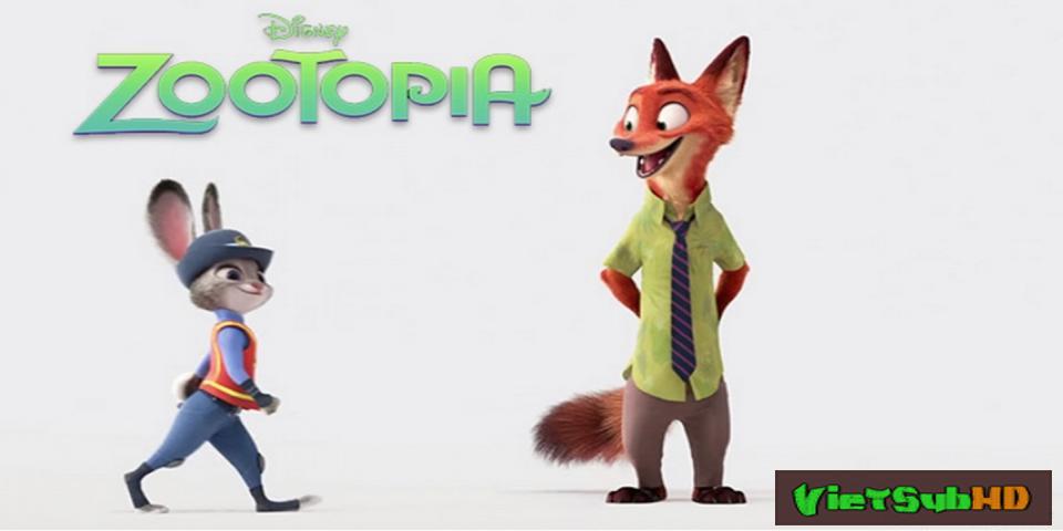 Phim Thành Phố Động Vật: Phi Vụ Động Trời VietSub HD | Zootopia 2016