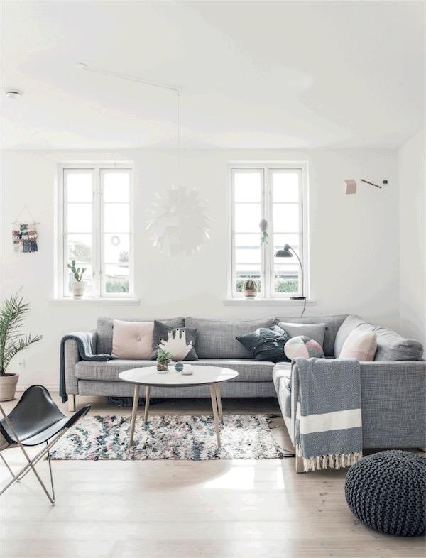 Una casa escandinava de verano chicanddeco