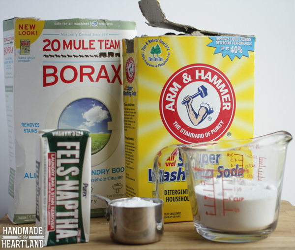 Make your own Liquid Laundry Detergent