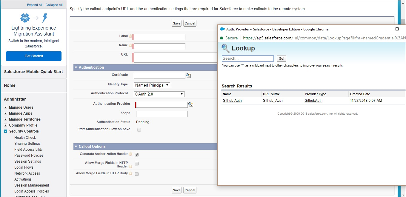 Create custom authentication provider and forget the hassle