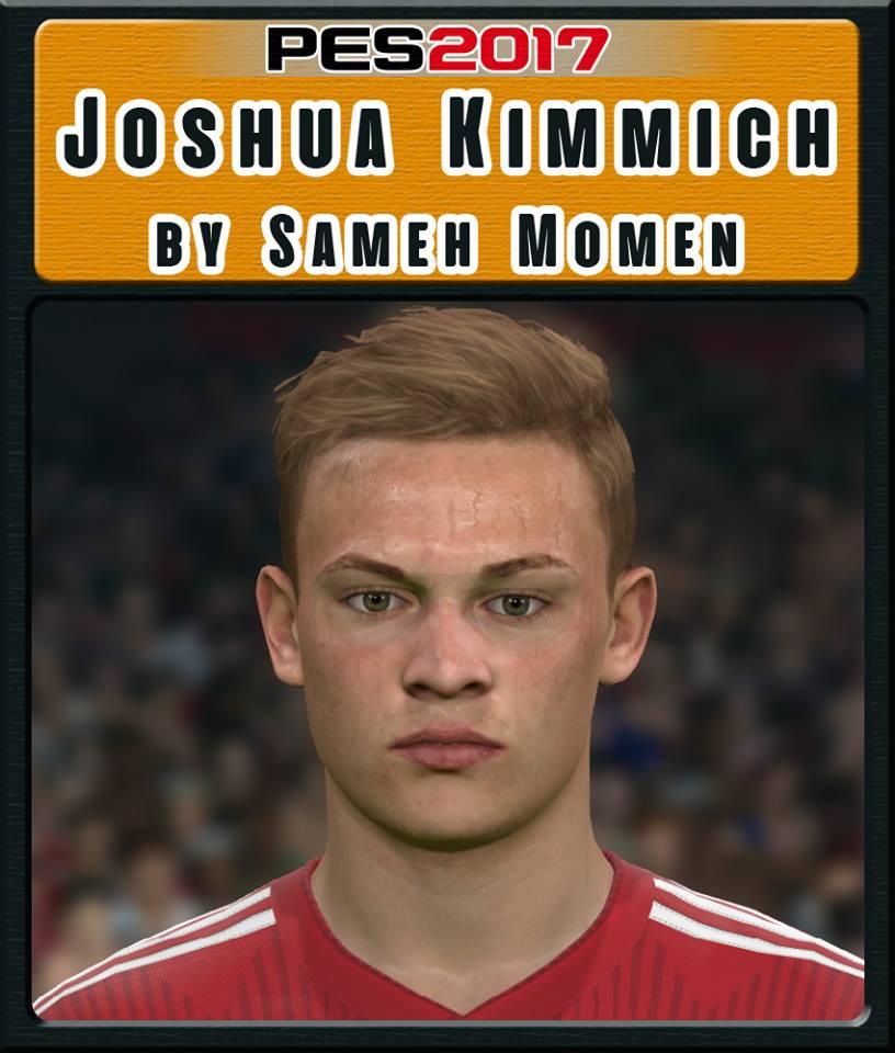ultigamerz: PES 2017 Joshua Kimmich (Bayern Munich) Face 2019