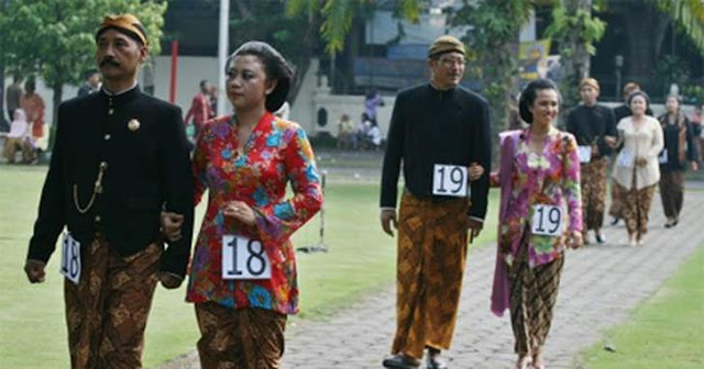 Budaya pakaian adat jawa tengah