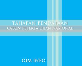 Jadwal Tahapan Pendataan Calon Peserta UN Madrasah TP 2015/2016