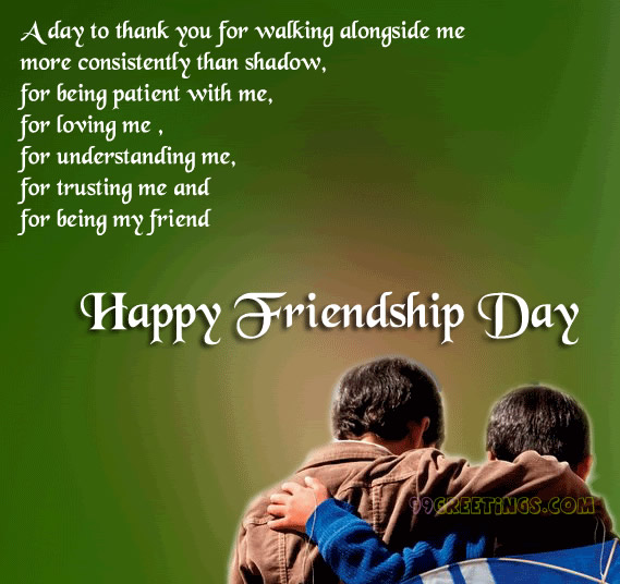 image Of friendship day 2016