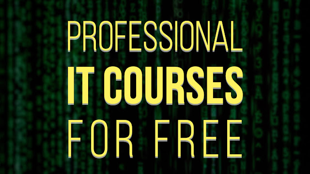 Professional IT Courses for FREE