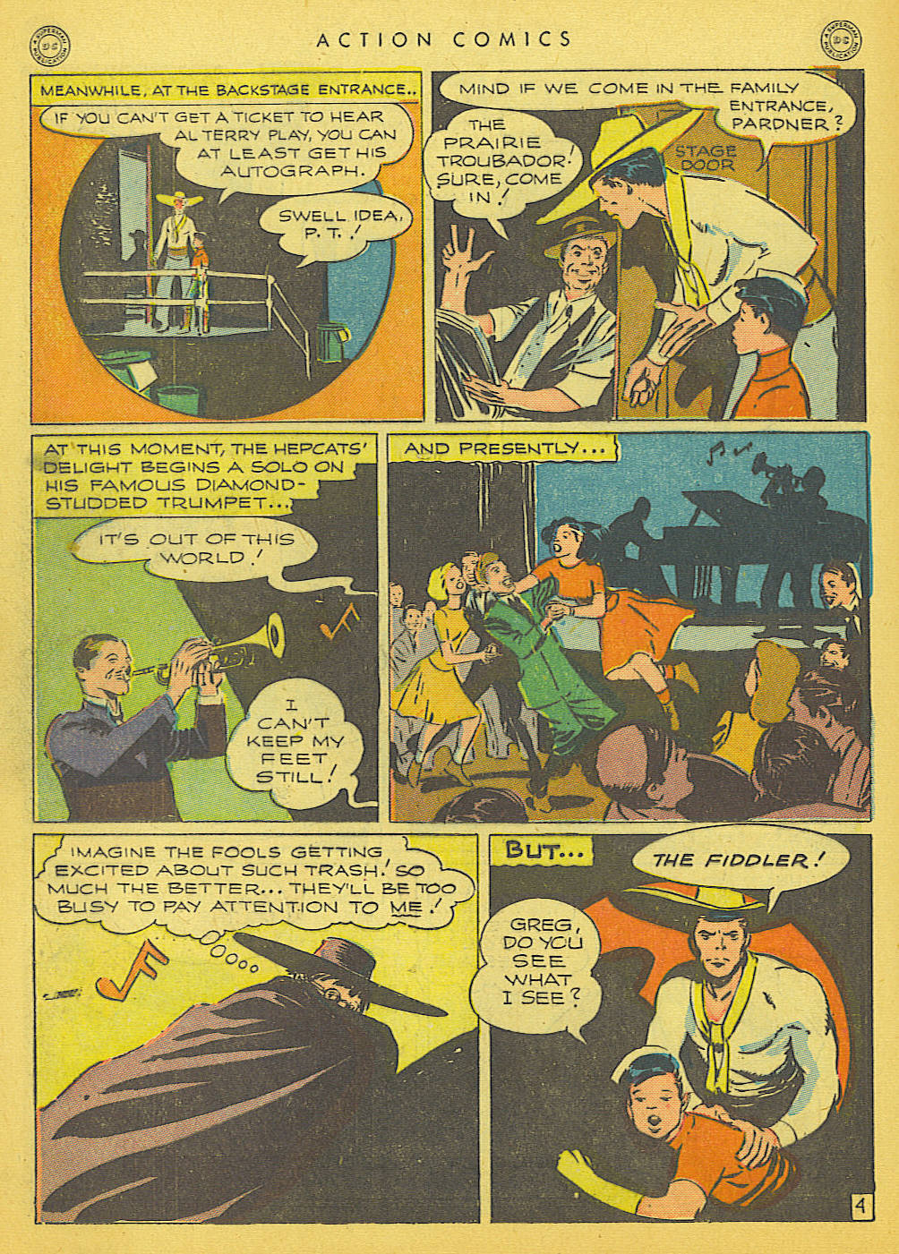 Read online Action Comics (1938) comic -  Issue #91 - 34