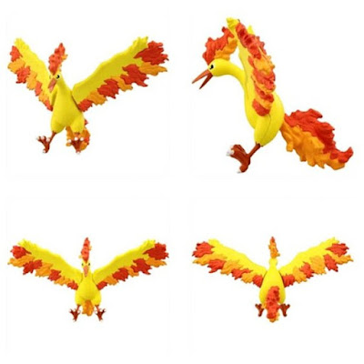 Moltres figure Takara Tomy MONCOLLE EX Hyper Size EHP_05