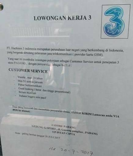 Lowongan Kerja PT. Huchison 3 Indonesia (Ditutup 20 Juli 2017)