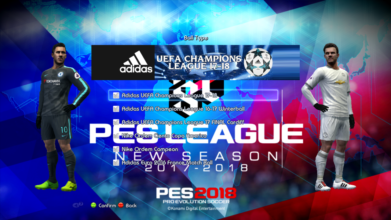 PES 2013 R Patch Update 31 Season 20172018