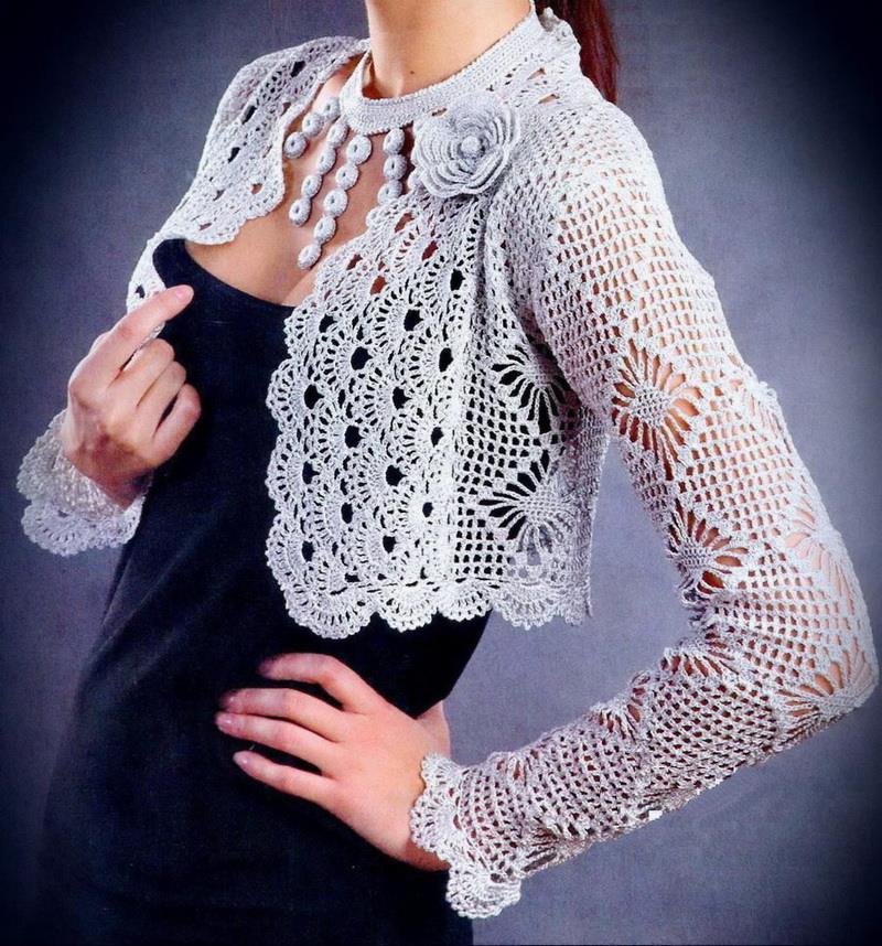 Crochet Sweaters Crochet Bolero Pattern Gorgeous Bolero Jacket