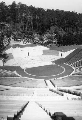 El Dietrich-Eckart-Freilichtbühne recinto que acogió concentraciones de masas que contaron con la presencia de Oskar Sala y el Trautonium