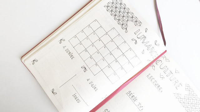 bullet-journal-blog-planning