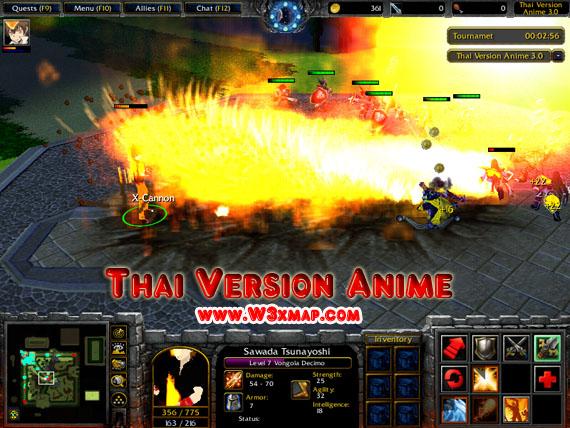Thai Version Anime 4 1B w3x