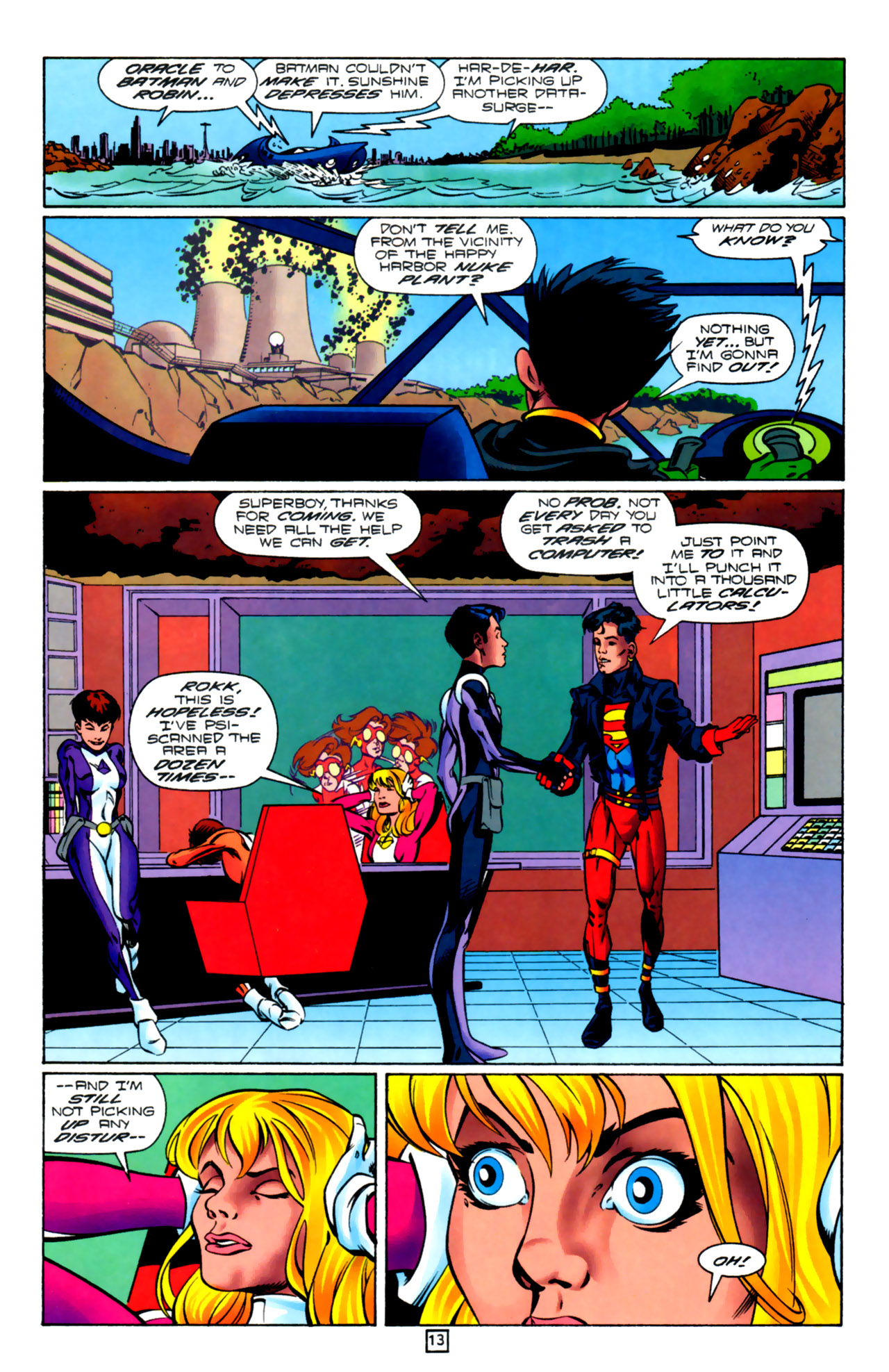 Legion of Super-Heroes (1989) 99 Page 13
