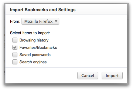 Import your Bookmarks in to Google Chrome - Google Cloud Premier