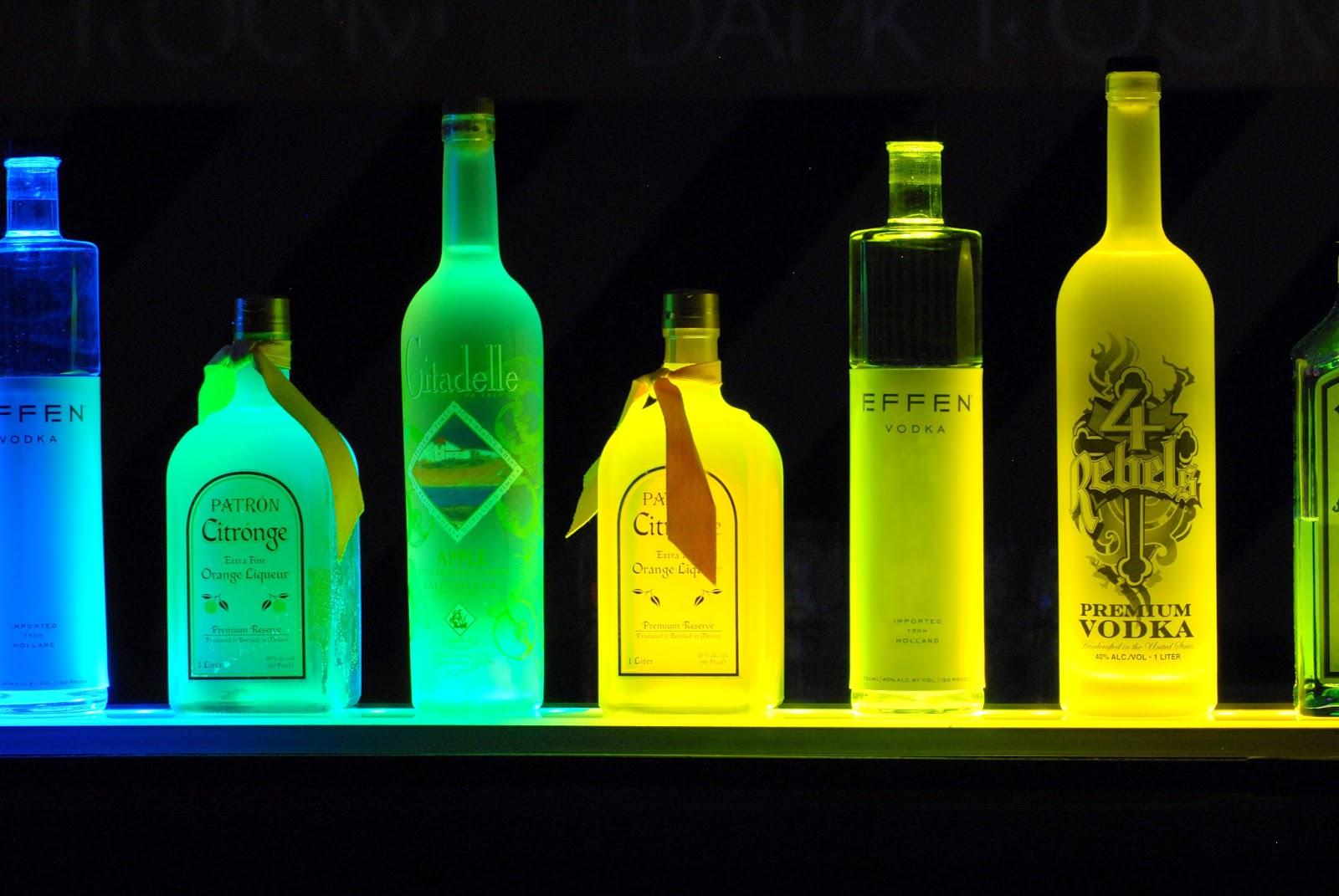 Led Liquor Shelves Display Wall Mount Liquor Shelves