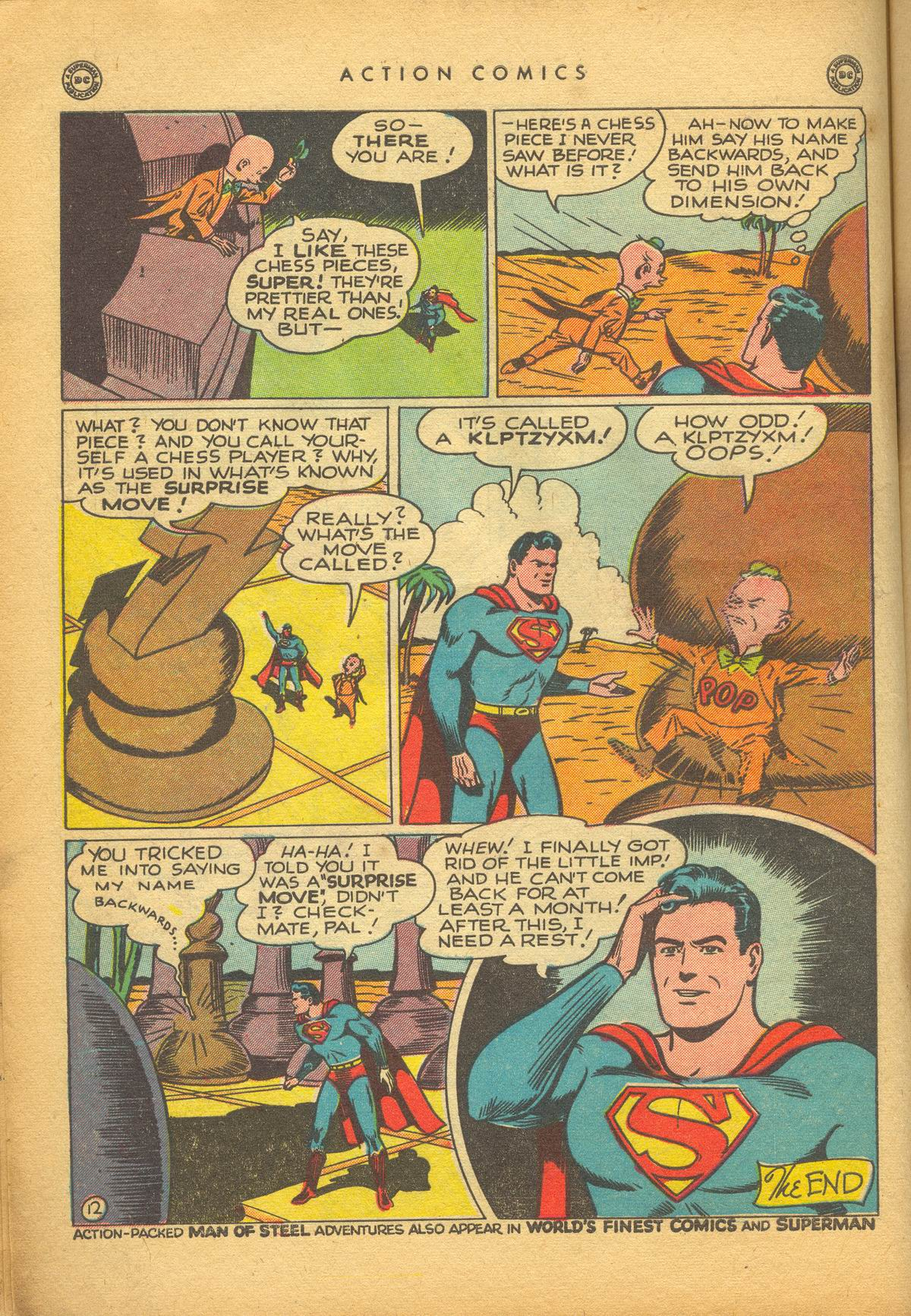 Read online Action Comics (1938) comic -  Issue #112 - 14