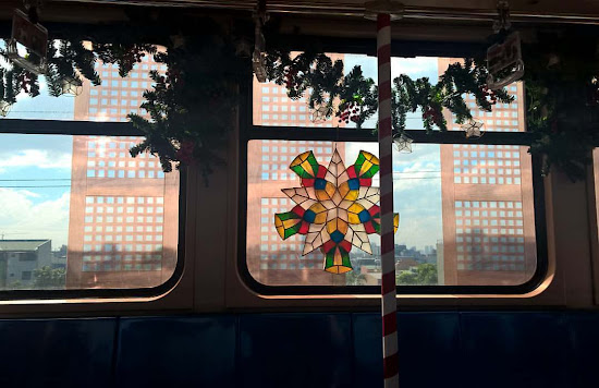 #PaskuhanSaLRT1 - Capiz Window of LRT Train