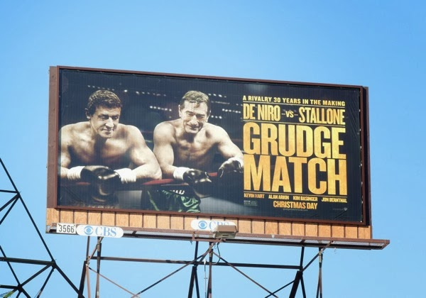 Grudge Match movie billboard ad