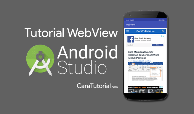 Tutorial Membuat Aplikasi Web di WebView Android Studio
