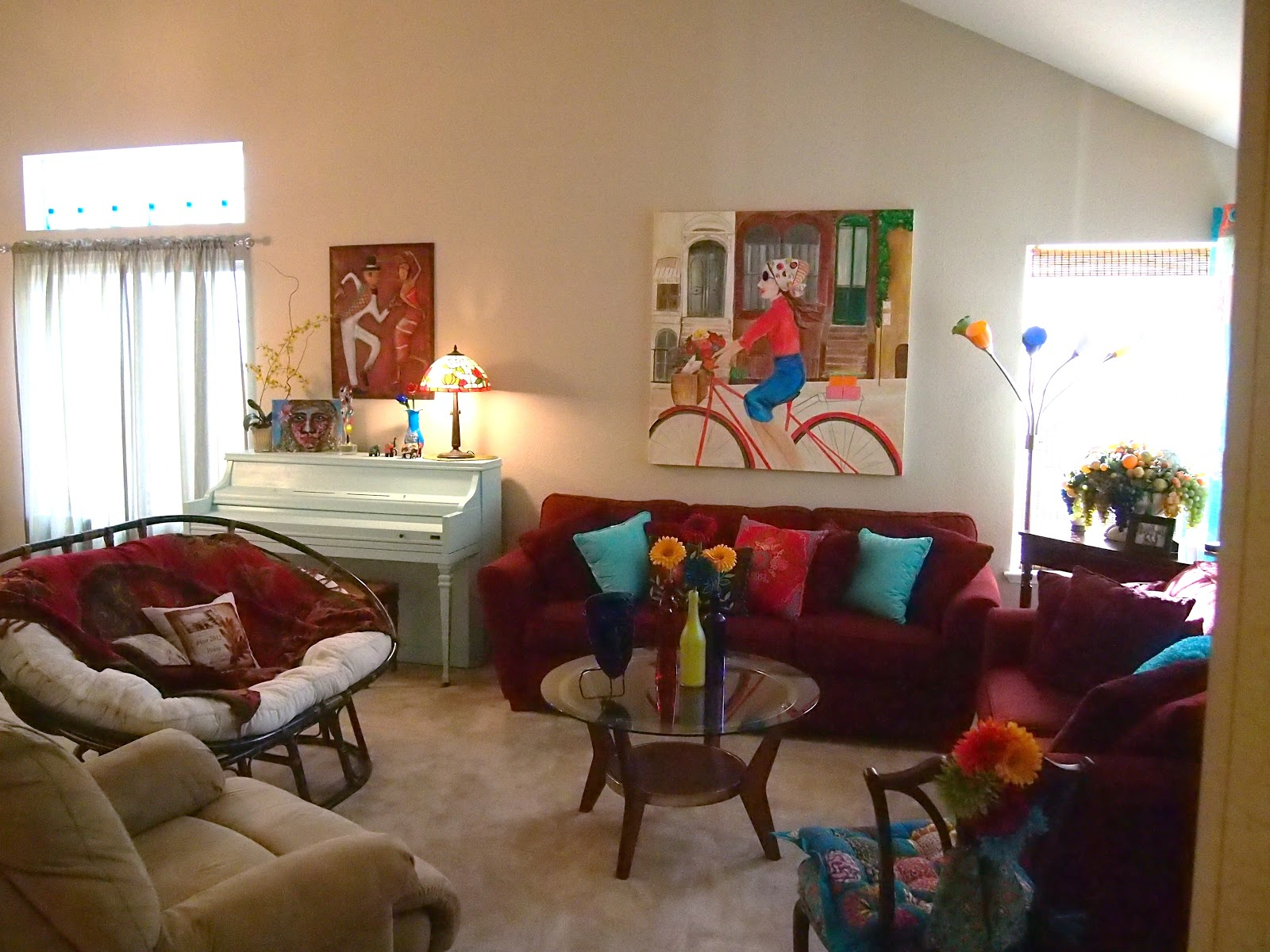 INSPIRATION SALVATION BOHO CHIC LIVING ROOM  THE COMPLETION