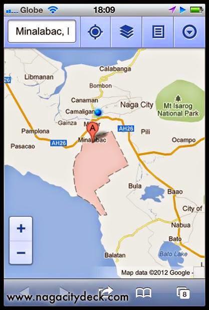 Guide to Bagolatao Minalabac ~ Naga City Deck