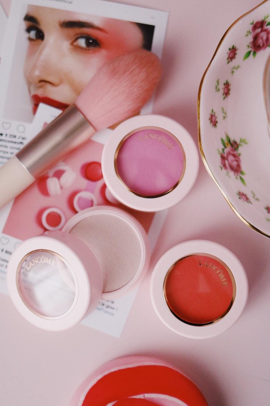 Lancôme , Blush Subtil Crème, Draping , Bonjour Bonheur , Rendez-vous , Je m'appelle Rose , Instatrend , LancômexSephora,Rose Mademoiselle , rosemademoiselle , blog beauté , paris , france , romantique, blush , highlighter,