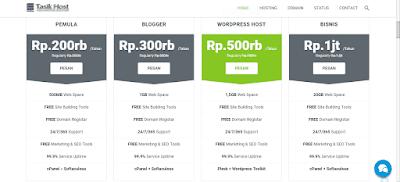 hosting murah dan terbaik untuk blogger indonesia
