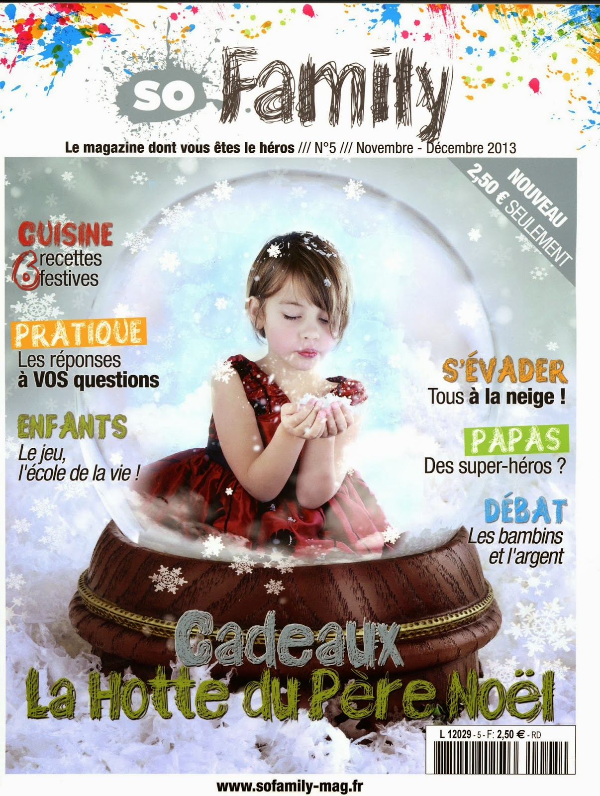 variantes le magazine so family n 5 est en kiosque. Black Bedroom Furniture Sets. Home Design Ideas