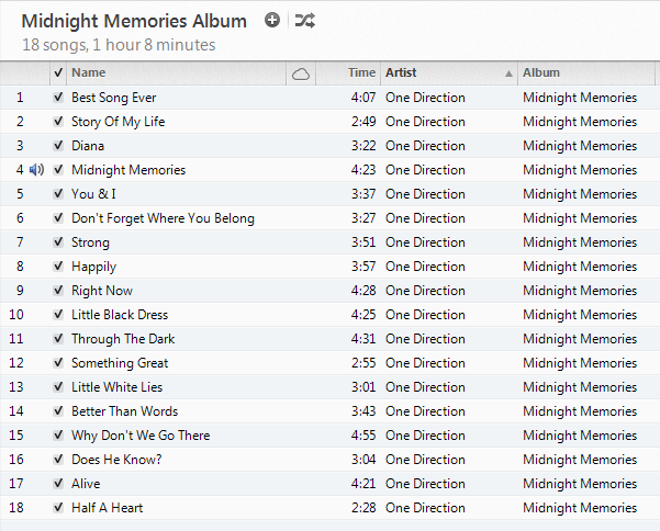Midnight Memories - One Direction!