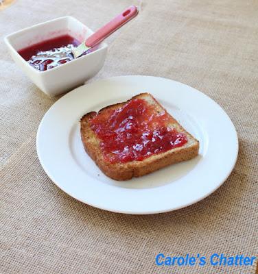 Carole's Chatter; Plum Plus Jam Again