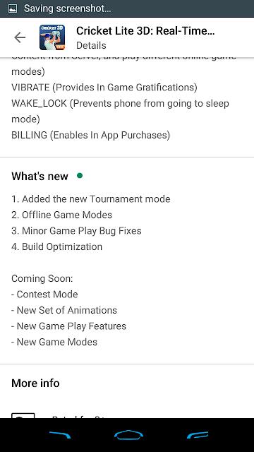 Cricket Lite 3D Update Features
