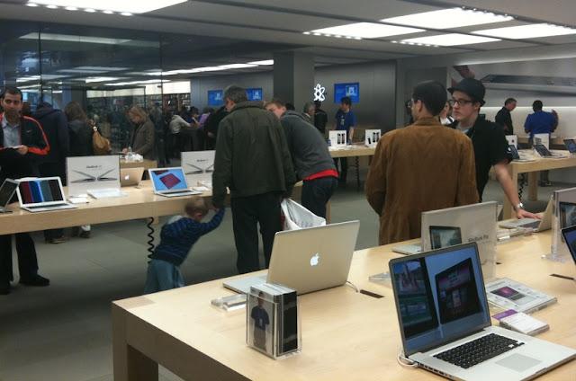 Comprar eletrônicos na Apple em San Francisco