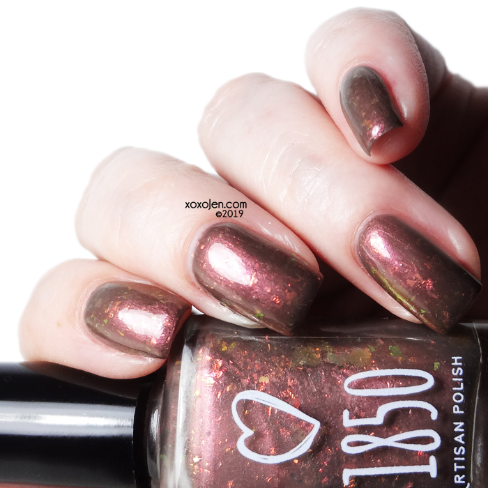xoxoJen's swatch of 1850 Artisan Lacquer Earthquake Weather