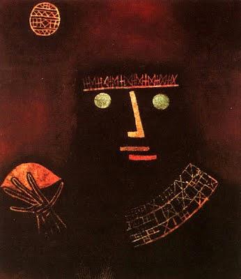 Príncipe Negro - Paul Klee - (Expressionismo) Suíço