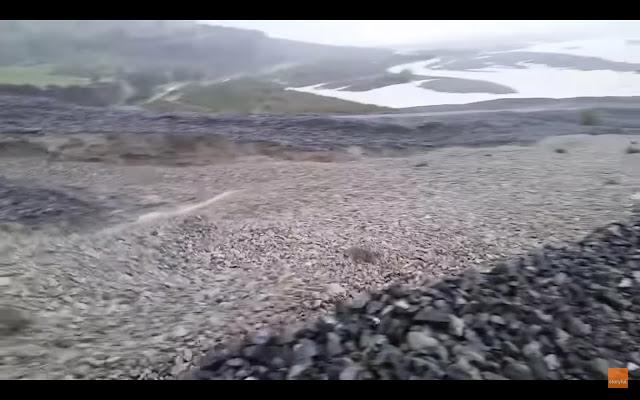 石が流れる石の川?ニュージーランドで起こった不思議な現象【c】