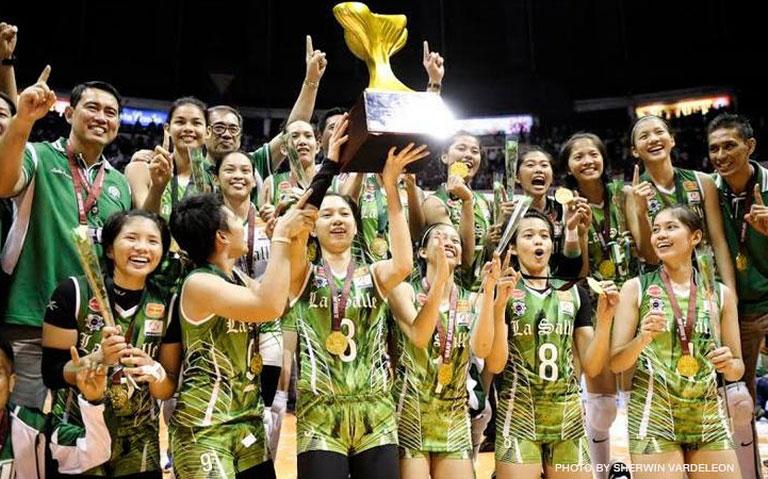 La Salle wins UAAP Women's Volleyball Title VIDEO