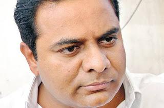 حیدرآباد : کے ٹی راما راؤ نے آج بارش سے متاثرہ علاقوں کا دورہ کیا