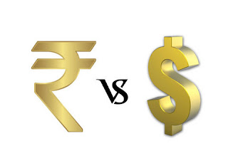 Rupee at the lowest level of 14 months closed at Rs 66.90 per dollar