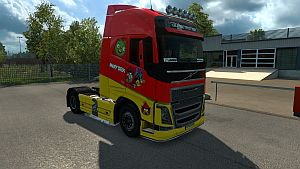 Funy skins for Volvo 2012