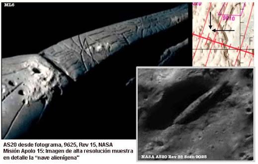 Imagenes tomadas por Rutledge de su misiona a la Luna