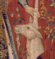 "The Lady and the Unicorn ""Touch"", 15th century - detail"