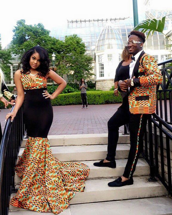 African Attires for Couples